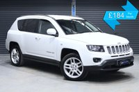 2013 JEEP COMPASS 2.1 CRD LIMITED  £7975.00