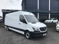 USED 2016 16 MERCEDES-BENZ SPRINTER 313 CDI LWB Hi Roof 2.1 130 BHP 2016 (16) Plate