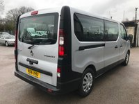 USED 2016 16 RENAULT TRAFIC SL29 DCI LWB 9 SEAT MINIBUS BUSINESS EDITION **LOW MILES**