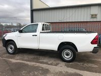 USED 2017 17 TOYOTA HI-LUX 2.4 D-4D 4WD SINGLE CAB ACTIVE PICKUP **VERY LOW MILES**