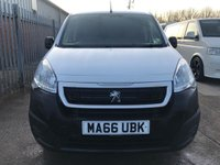 USED 2016 66 PEUGEOT PARTNER 1.6 BLUE HDI PROFESSIONAL L1 100 BHP **LOW MILES**