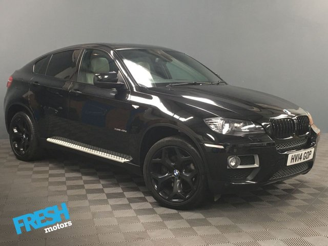 USED 2014 14 BMW X6 3.0 XDRIVE40D 4d AUTO * 0% Deposit Finance Available