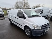 USED 2013 13 MERCEDES-BENZ VITO 2.1 113 CDI BLUEEFFICIENCY 136 BHP