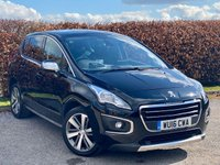 USED 2016 16 PEUGEOT 3008 1.6 BLUE HDI S/S ALLURE 5d  FULL GLASS PANORAMIC SUNROOF