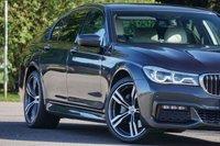 USED 2015 65 BMW 7 SERIES 3.0 730D M SPORT 4d 261 BHP Rear Entertainment Fr/Rr Comfort Seats FBMWSH