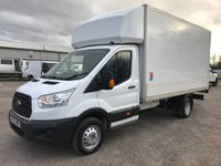USED 2015 65 FORD TRANSIT 350 125BHP LWB LUTON BODY WITH TAILIFT
