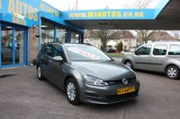 USED 2016 16 VOLKSWAGEN GOLF 1.6 BLUEMOTION TDI 5dr ESTATE ULEZ COMPLIANT SAT NAV NEED FINANCE??? APPLY WITH US!!!