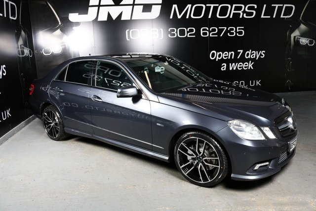 USED 2011 MERCEDES-BENZ E-CLASS 2011 MERCEDES-BENZ E CLASS E250 CDI BLUEEFFICIENCY SPORT NIGHT EDITION STYLE AUTO 204BHP (FINANCE & WARRANTY)