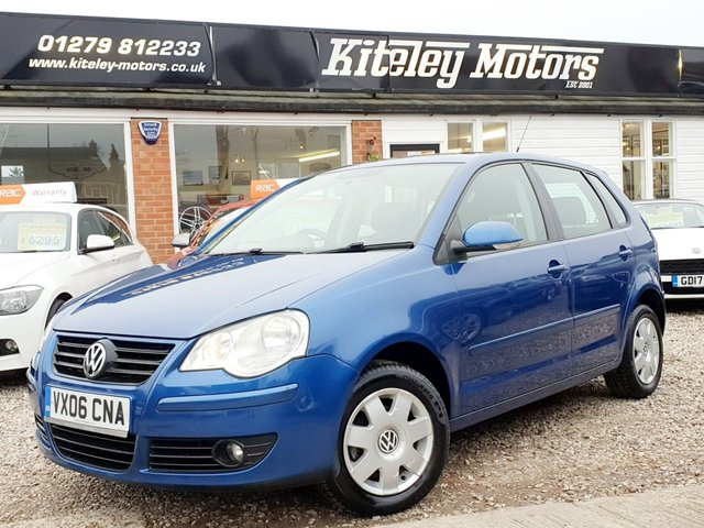 2006 06 VOLKSWAGEN POLO 1.2 S 5 DOOR