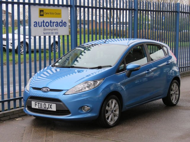 USED 2011 11 FORD FIESTA 1.4 ZETEC TDCI 5d 69 BHP £0 Road Tax, Great MPG, Air Conditioning, Quicklear Heated Windscreen, Ford Easy Fuel, no fuel cap system, Service History