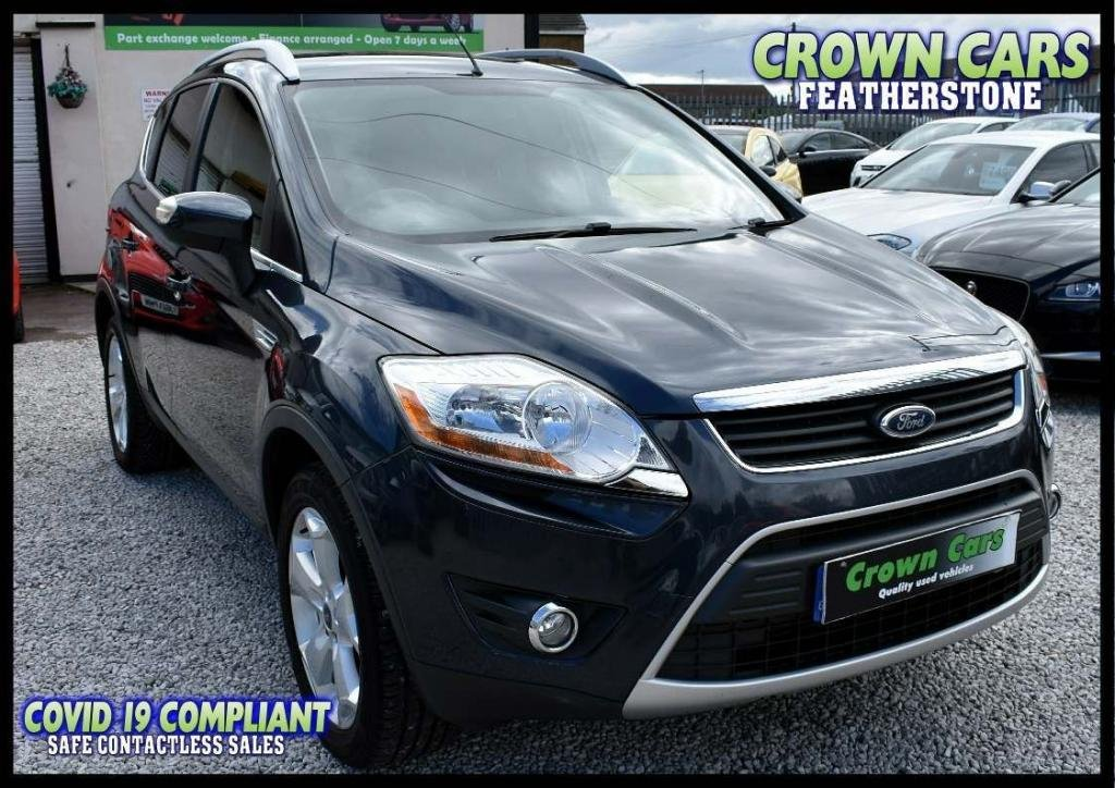 USED 2008 08 FORD KUGA 2.0 TDCi Zetec 4x4 5dr AMAZING LOW RATE FINANCE DEALS