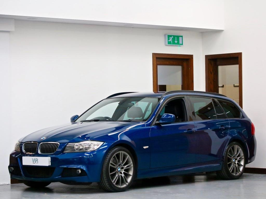 USED 2012 12 BMW 3 SERIES 2.0 318d Sport Plus Touring 5dr HEATED LEATHER