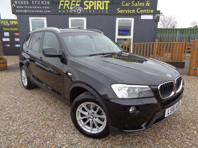 USED 2011 61 BMW X3 2.0 20d SE xDrive 5dr Pan Roof, Rear Cam, Proff Nav