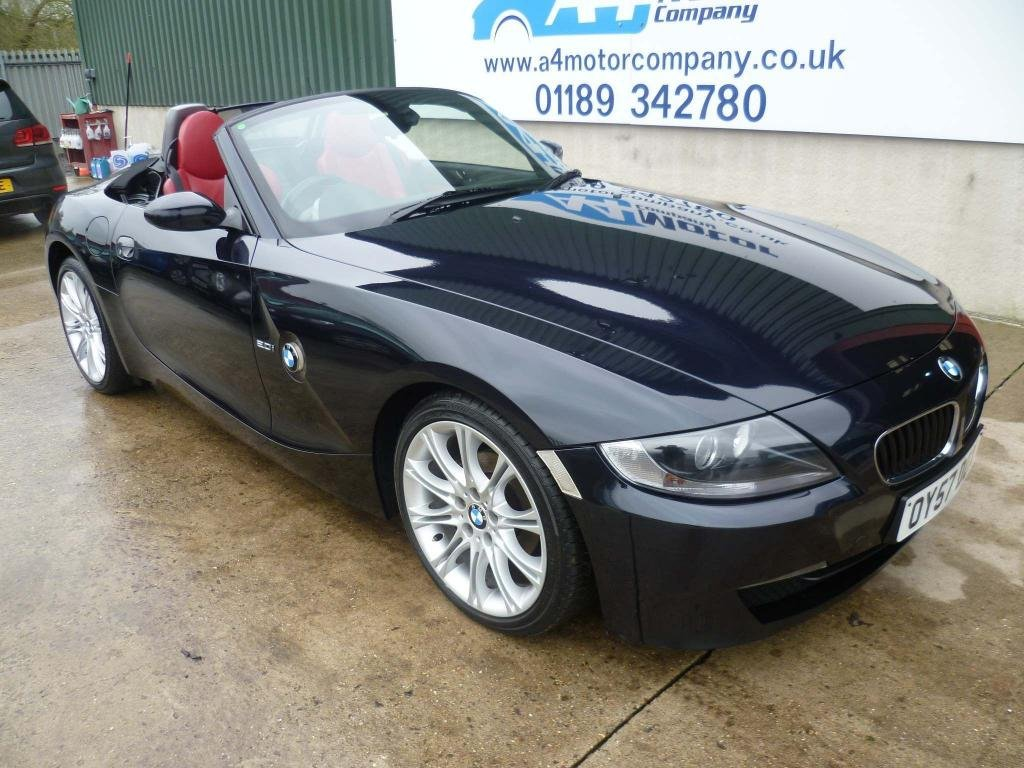 USED 2007 57 BMW Z4 2.0 i Sport Roadster 2dr 115 + REVIEWS YOU CAN TRUST!!