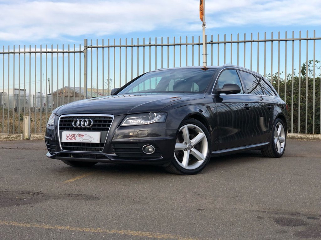 USED 2010 AUDI A4 2.0 AVANT TDI S LINE SPECIAL EDITION 5d 141 BHP