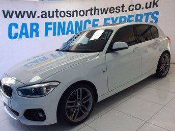 2016 BMW 1 SERIES 1.5 118I M SPORT 5d 134 BHP SOLD