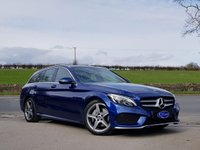 USED 2018 18 MERCEDES-BENZ C-CLASS 2.0 C 200 AMG LINE 5d 184 BHP 185BHP PETROL, GREAT SPEC, ONE OWNER