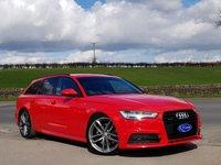 USED 2015 65 AUDI A6 3.0 AVANT TDI QUATTRO BLACK EDITION 5d 315 BHP RARE 3.0 BITURBO, STUNNING CAR, FULL AUDI HISTORY