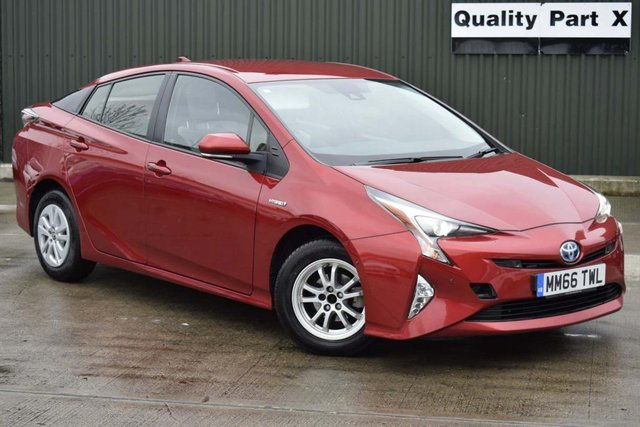 USED 2017 66 TOYOTA PRIUS 1.8 VVT-h Business Edition Plus CVT (s/s) 5dr (15in Alloy) SATNAV,BLUETOOTH,XENON,CAMERA