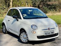 USED 2014 64 FIAT 500 1.2 POP 3d 69 BHP LOW MILEAGE, GREAT VALUE FOR MONEY