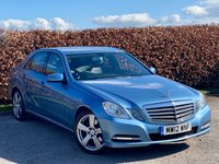 USED 2012 12 MERCEDES-BENZ E CLASS 2.1 E220 CDI BLUEEFFICIENCY SE EDITION 125 4d MERCEDES SERVICE HISTORY * SAT NAV * HEATED LEATHER * BLUETOOTH * CRUISE