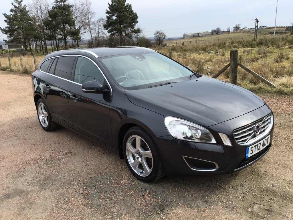 USED 2012 12 VOLVO V60 1.6 DRIVE SE LUX S/S 5d 113 BHP