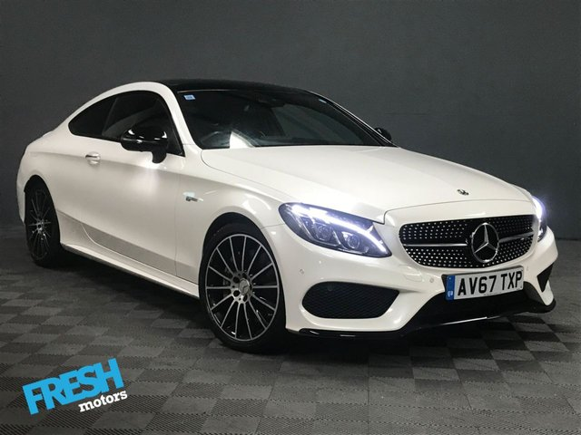 USED 2017 67 MERCEDES-BENZ C-CLASS 3.0 AMG C43 4MATIC PREMIUM PLUS 2d AUTO  * 0% Deposit Finance Available