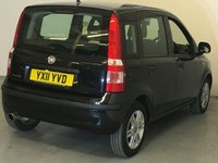 USED 2011 11 FIAT PANDA 1.2 ACTIVE 5STR  5d 69 BHP Lovely Low Mileage Fiat Panda 1.2 Active 5 Door, Finished In Gleaming Carbon Black With Two Tone Anthracite And Lemon Cloth Upholstery, Just 52,037 Miles With A Fabulous 9 Stamp Service History Most Of Which Are Main Dealer, Nice Specification With With Six Spoke Alloys, Air Conditioning, And An Upgraded Bluetooth Stereo System And Of Course All The Usual Panda Attributes Low Insurance, Fab MPG And Only £30 Road Tax In A Cheeky/Chunky Easy And Fun To Drive  Package