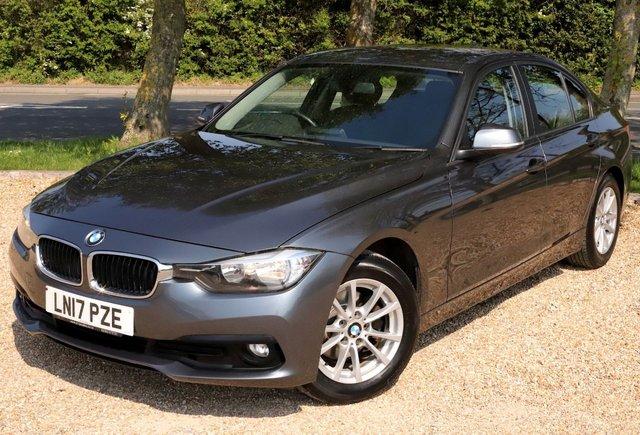 2017 17 BMW 3 SERIES 2.0 320D EFFICIENT DYNAMIC PLUS 4d 161 BHP AUTOMATIC/ SAT NAV/ HEATED SEATS/