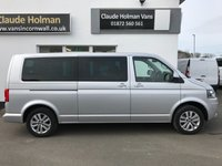 USED 2014 64 VOLKSWAGEN CARAVELLE 2.0 SE TDI BLUEMOTION TECHNOLOGY 5d 180 BHP NO VAT TO PAY