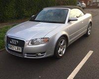 2007 AUDI A4 1.8 T SPORT 2d 161 BHP £3499.00