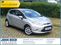 USED 2010 60 FORD FIESTA 1.4 ZETEC 16V 5d 96 BHP AUTOMATIC - FULL SERVICE HISTORY