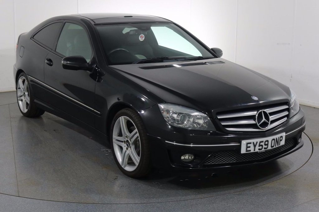 USED 2009 59 MERCEDES-BENZ CLC CLASS 1.8 CLC180 KOMPRESSOR SPORT 3d 143 BHP 3 OWNERS From New