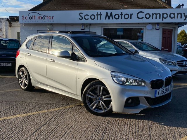 USED 2015 15 BMW 2 SERIES 2.0 218D M Sport Active Tourer Automatic