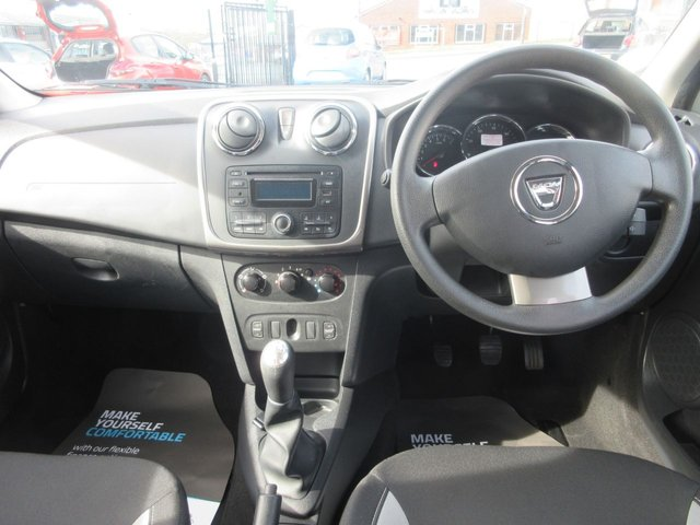 USED 2014 14 DACIA SANDERO 0.9 STEPWAY AMBIANCE TCE 5d 90 BHP ***1 PRIVATE OWNER FROM NEW***