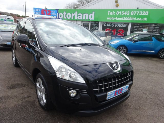 USED 2013 13 PEUGEOT 3008 1.6 E-HDI ACTIVE 5d 115 BHP **JUST ARRIVED..MPV..ZERO DEPOSIT FIANCE..