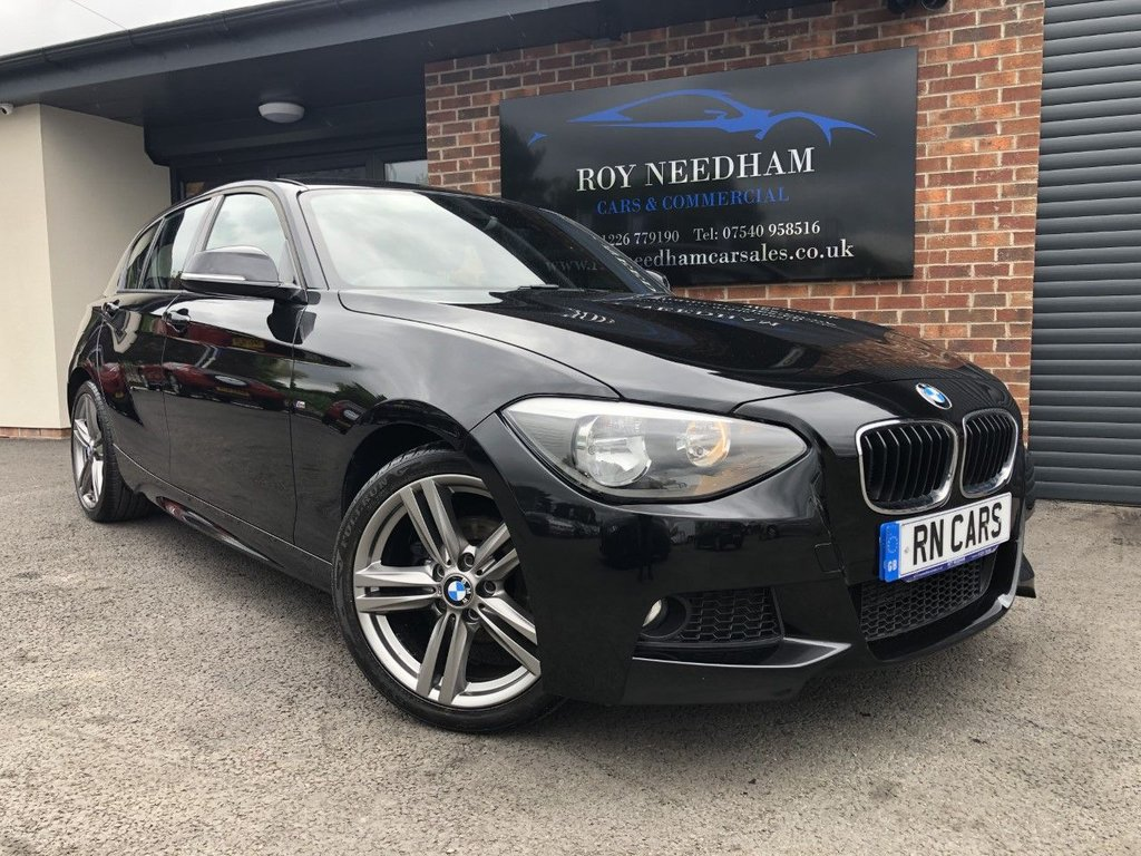 USED 2014 64 BMW 1 SERIES 2.0 116D M SPORT 5DR 114 BHP *** BUSINESS NAV - FRESH ALLOYS ***