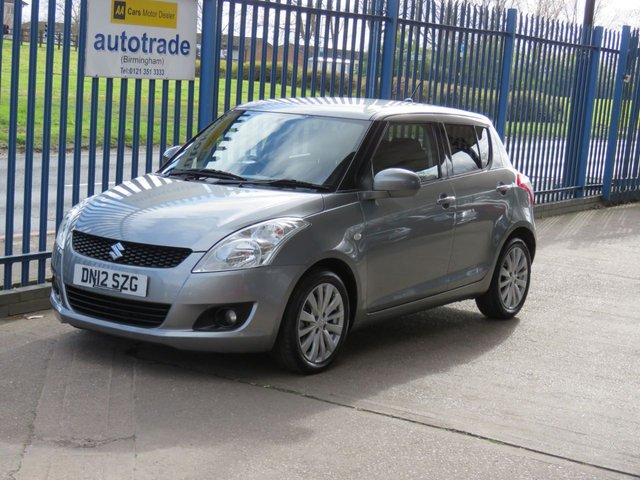USED 2012 12 SUZUKI SWIFT 1.2 SZ4 5dr Cruise Air con Bluetooth Alloys ULEZ Compliant Part exchange available Open 7 days