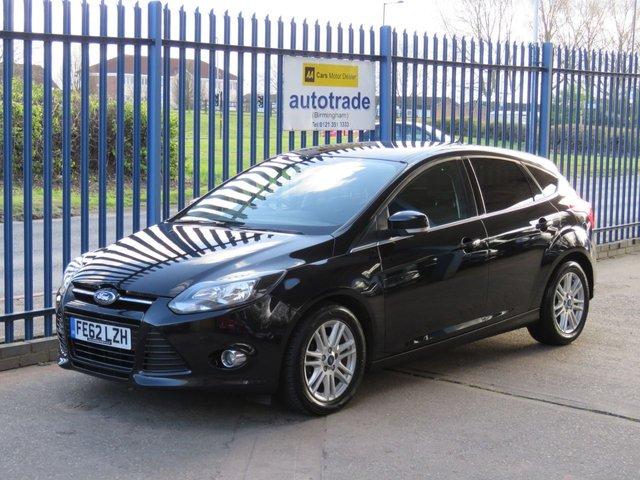 USED 2012 62 FORD FOCUS 1.6 TITANIUM TDCI 115 5d 114 BHP Just £20 Road Tax,Ideal Family Car
