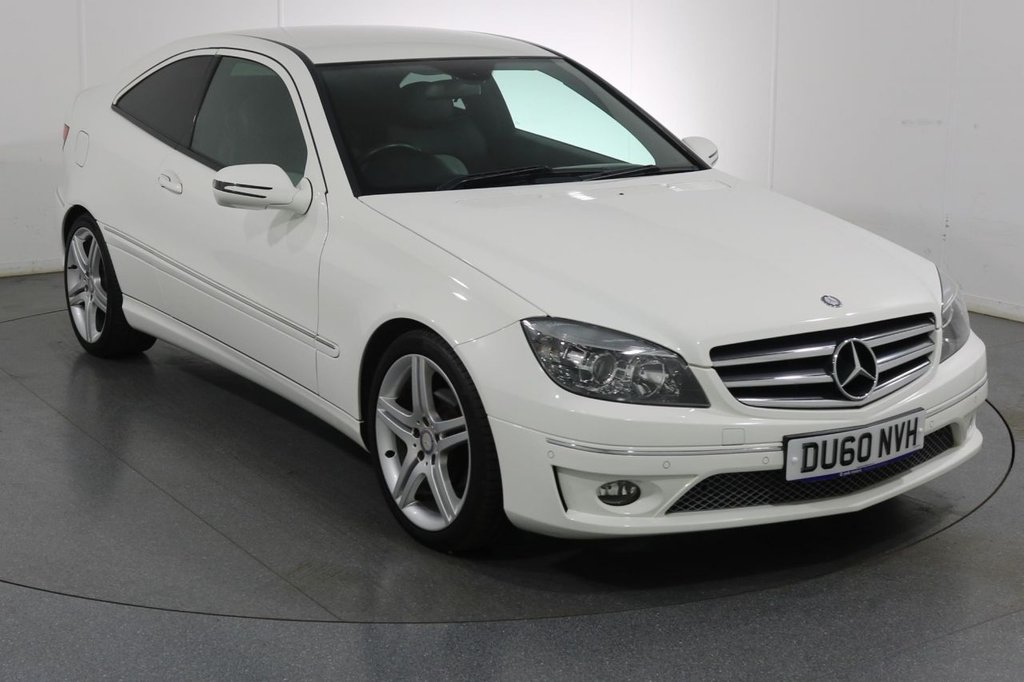 USED 2010 60 MERCEDES-BENZ CLC CLASS 1.8 CLC180 KOMPRESSOR SPORT 3d 143 BHP 2 OWNERS with 6 Stamp SERVICE HISTORY