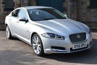 2012 JAGUAR XF 3.0 V6 PREMIUM LUXURY 4d 240 BHP £8495.00