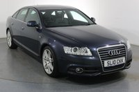 USED 2010 10 AUDI A6 2.0 TDI LE MANS 4d 168 BHP 2 OWNERS with 8 Stamp SERVICE HISTORY