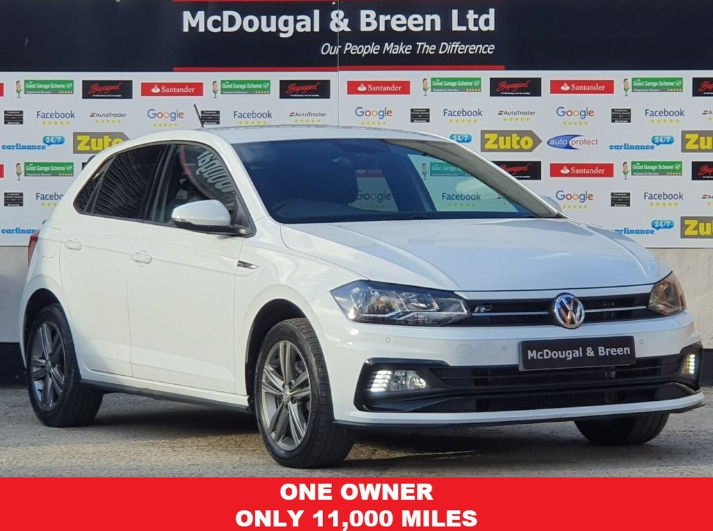 USED 2018 68 VOLKSWAGEN POLO 1.0 R-LINE TSI 5d 114 BHP