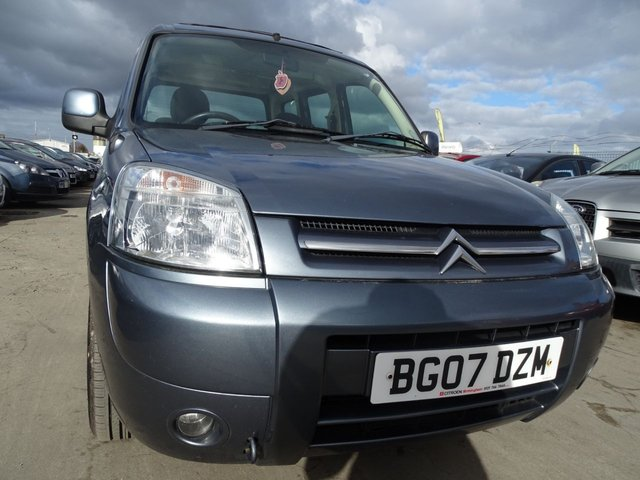 USED 2007 07 CITROEN BERLINGO 1.6 MULTISPACE DESIRE HDI 5d 89 BHP