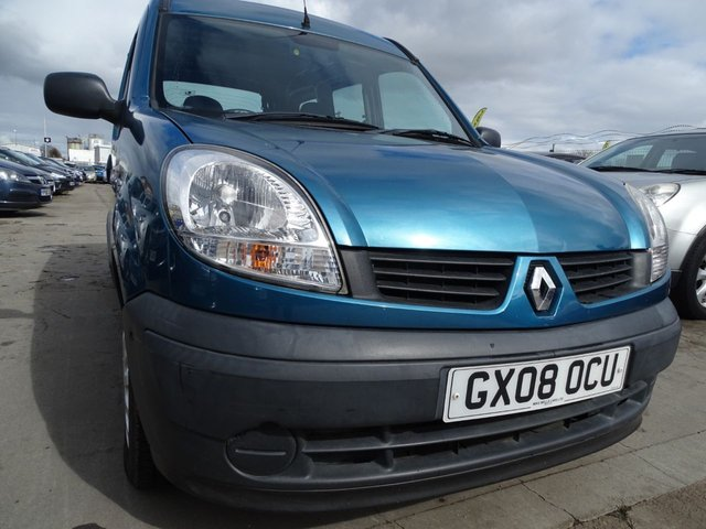 USED 2008 08 RENAULT KANGOO 1.1 AUTHENTIQUE DISABLED ACCESS RAMP