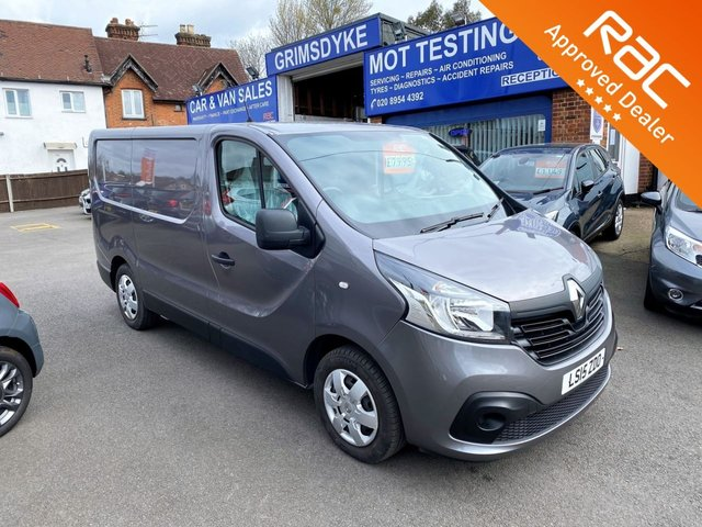 2015 15 RENAULT TRAFIC 1.6 SL27 BUSINESS PLUS ENERGY DCI S/R P/V 120 BHP