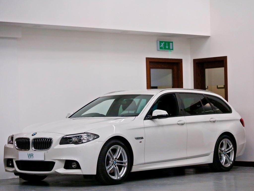 USED 2016 16 BMW 5 SERIES 2.0 520d M Sport Touring 5dr SAT NAV + HEATED LEATHER