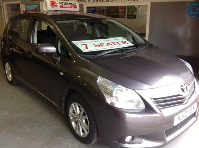 2012 12 TOYOTA VERSO 2.0 TR D-4D  7 SEATER