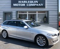 USED 2012 12 BMW 5 SERIES 2.0 525D SE TOURING 5d 215 BHP