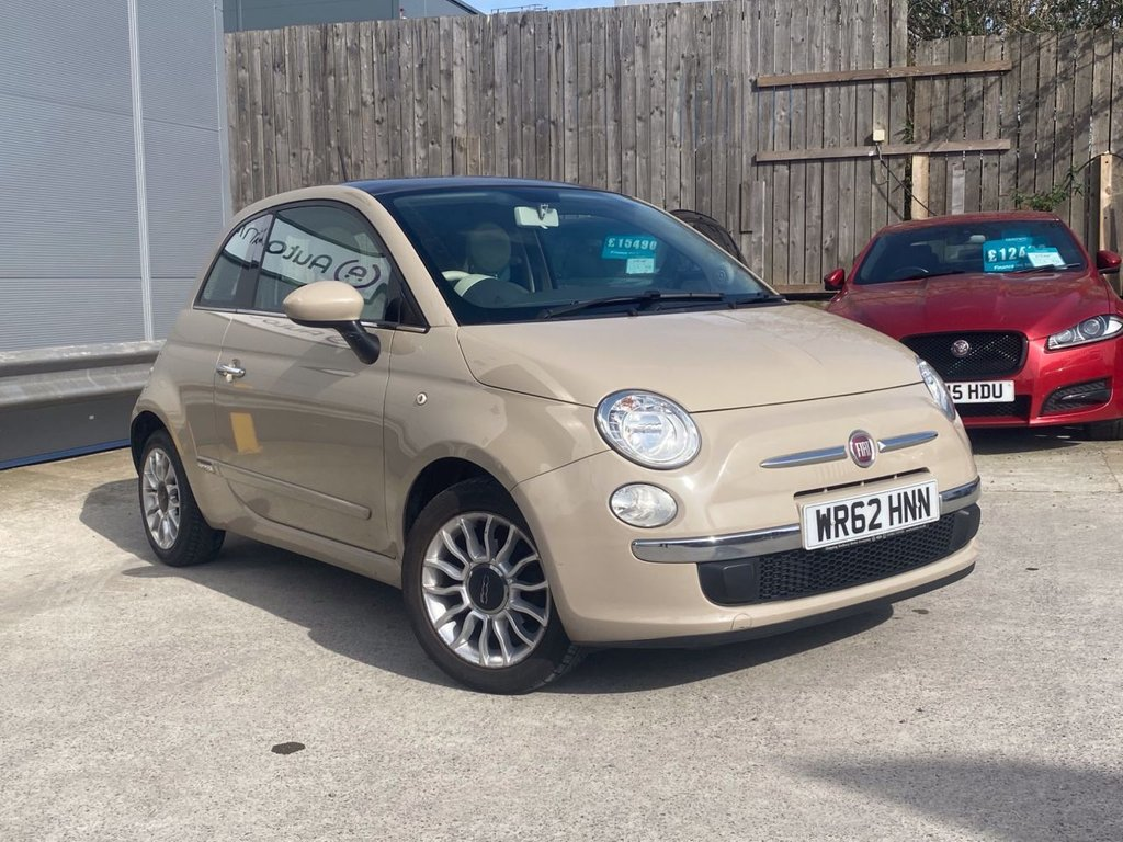 USED 2012 62 FIAT 500 1.2 LOUNGE 3d 69 BHP FULL HISTORY INC CAMBELT